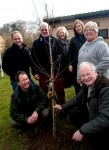 The Ceremonial Planting of the Jubilee Tree at the Village Hall.  March 13th