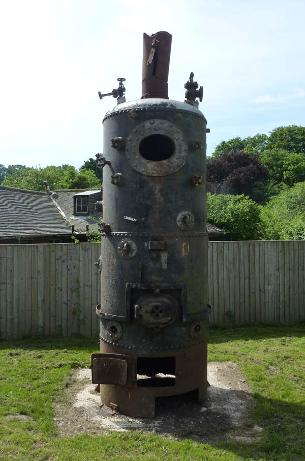 Dawes' original steam boiler
