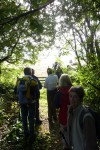 Setting out on the Benefice Walk
