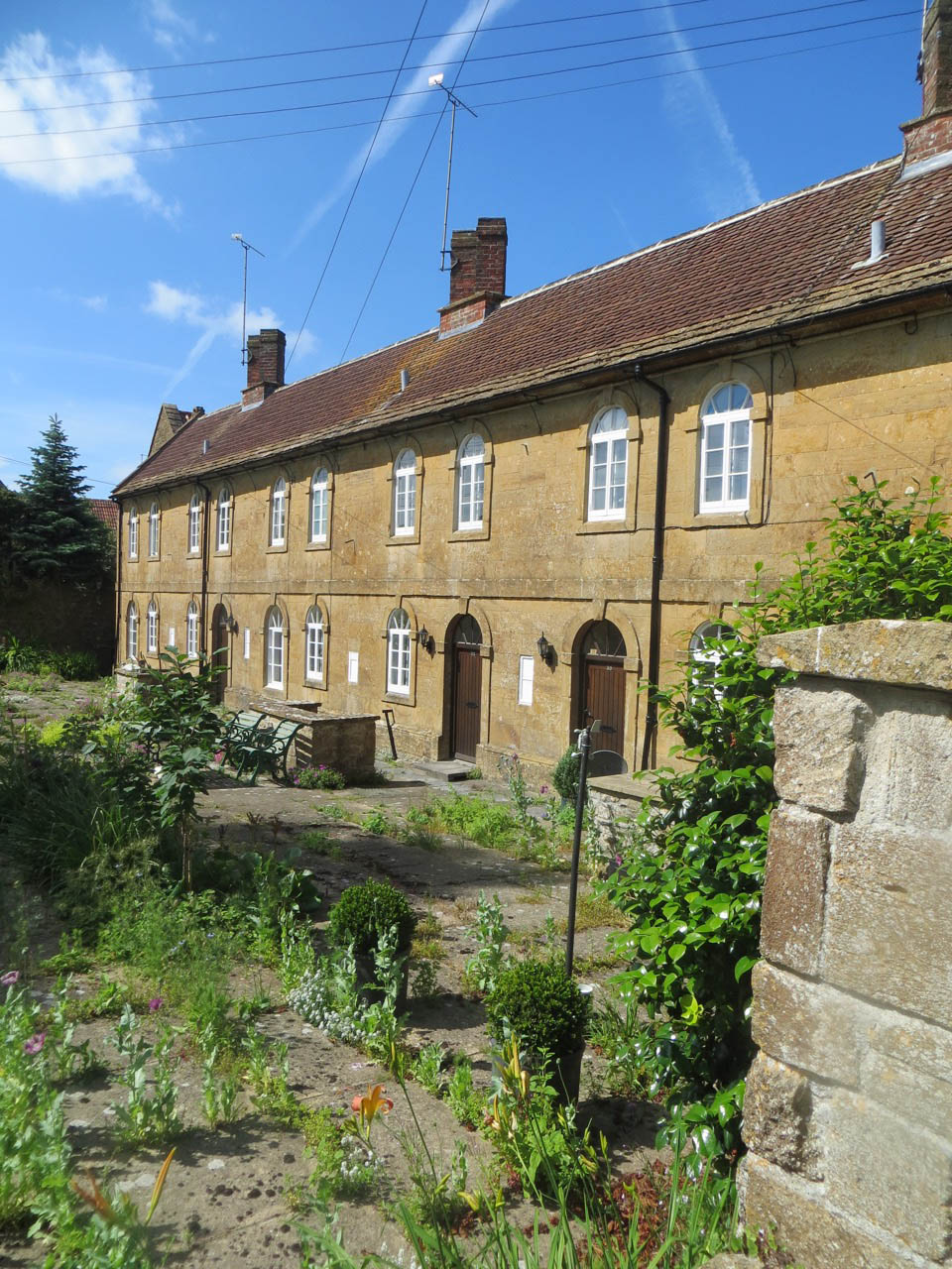 West Coker Almshouse June 2016