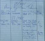 Visitors' Book - Christopher Timothy and Peter Davison